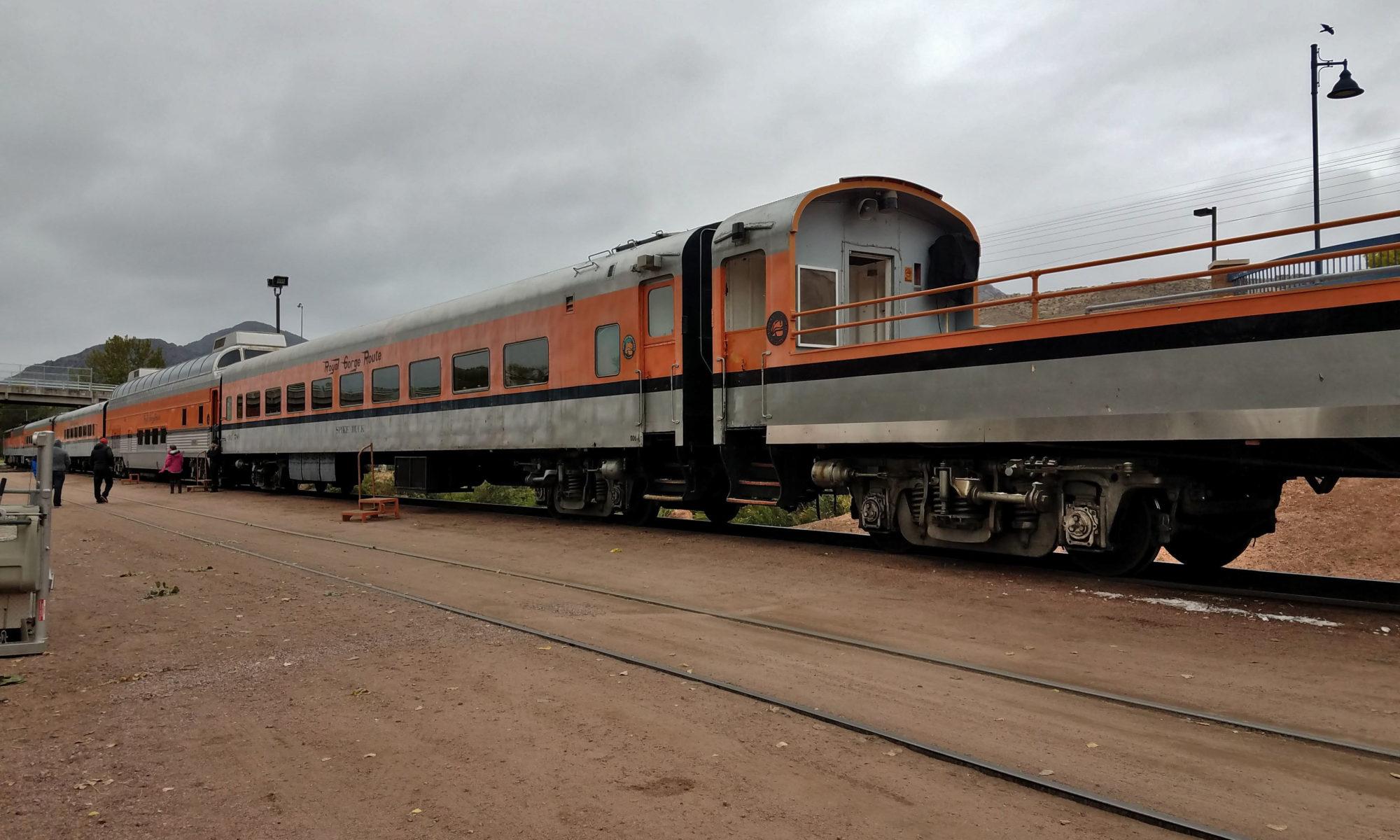 Royal Gorge Railway cars